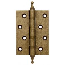 Петля латунная Armadillo 500-A4 100x75x3 OB Античная бронза