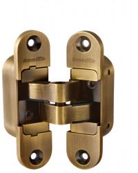 Петля скрытая Armadillo Architect 3D-ACH 40 BB-17 Коричневая бронза лев.40 кг.