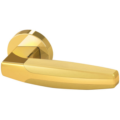 Ручка Armadillo ARC URB2 GOLD-24/GOLD-24/SGOLD-24  Золото24/Золото24/Матовое золото 24