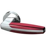 Ручка Armadillo ARC URB2 СР/СР/Bordo-15 Хром/Хром/Бордовый