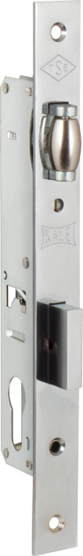 Корпус замка Kale врезного цилиндрового узкопроф.155 (20 mm) w/b (никель)