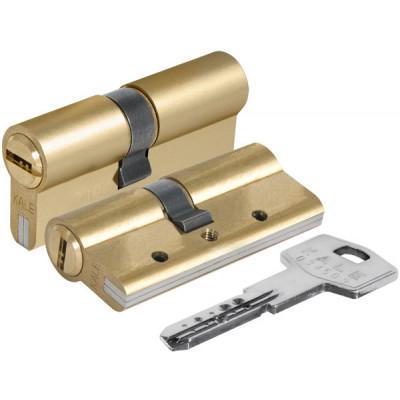 Цилиндровый механизм Kale 164 DBN-E/68 (26+10+32) mm латунь 5 кл.