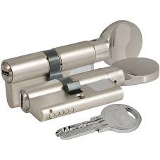 Цилиндровый механизм Kale с вертушкой 164 SM/90 (35+10+45) mm никель 5 кл.