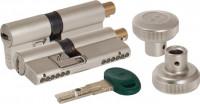 Цилиндровый механизм Mottura c вертушкой C31F364601RC5 82 мм 31+10+41 МАТ.НИКЕЛЬ верт. 99.506