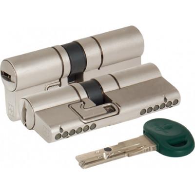 Цилиндровый механизм Mottura C31D414101C5 82 мм 36+10+36 МАТ.НИКЕЛЬ