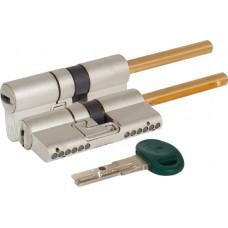Цилиндровый механизм Mottura под вертушку (дл. шток) C31P313101C5 (62 мм/26+10+26), МАТ.НИКЕЛЬ