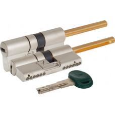 Цилиндровый механизм Mottura под вертушку (дл. шток) C38P313101C5 (62 мм/26+10+26), МАТ.НИКЕЛЬ