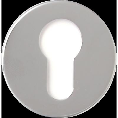 Накладка Forme Cyl круглая  ПОЛИРОВАННЫЙ ХРОМ (FIXA)