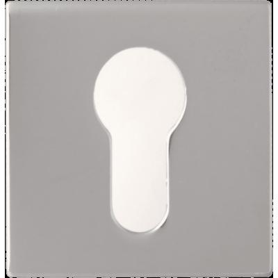 Накладка Forme Cyl квадратная  ПОЛИРОВАННЫЙ ХРОМ (FIXA)