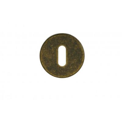 Накладка под сув. ключ Мари, бронза античная с керамикой, BD12P AF
