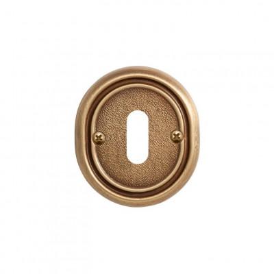 Накладка Val de Fiori под сув. ключ к ручке Беладжио, латунь состаренная, OB 70 YB
