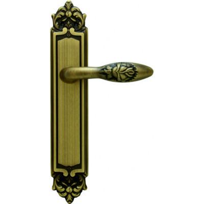 Ручка MELODIA на планке Модель ROSA 243, МАТОВАЯ БРОНЗА