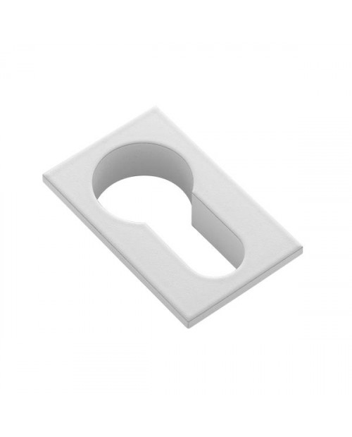 Накладка на цилиндр Morelli Luxury LUX-KH-SM BIA, белый
