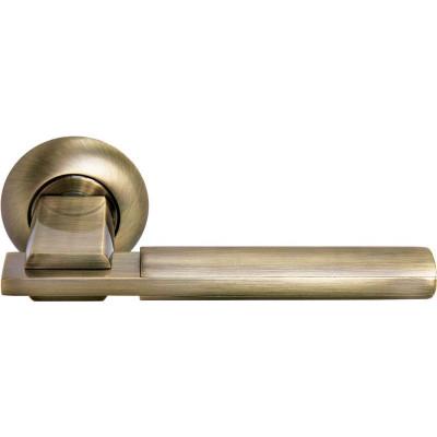 Ручка дверная Morelli Упоение MH-13 MAB/AB матовая античная бронза/античная бронза