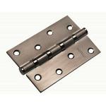 Петля дверная Morelli MS 4BB AB 100x70x2,5 BN, черный никель