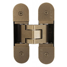 Петля скрытая, универсальная TECTUS TE 303 3D Bronze-Metallic (бронза металлик), 60 кг