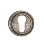 Накладка на цилиндр, ET 16 SL, серебро античное