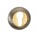 Накладка на цилиндр к ручкам RENZ, ET (N) 08 SN/GP, никель мат