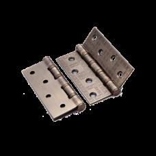 Петля стальная декор RENZ 100*75*2,5, MR 4 подшипника , бронза ант. матовая