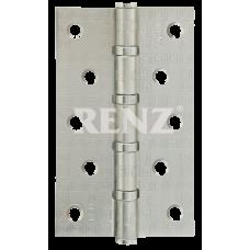 Петля стальная декор RENZ 125-75-2,5, MR 4 подшипника , никель матовый
