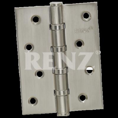 Петля стальная RENZ 100*75*2,5, 4 подшипника никель мат.