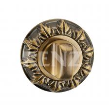 Завертка к ручкам декоративная, BK 10 BIG AB, бронза античная
