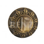 Завертка к ручкам декоративная, BK 10 BIG MAB, бронза античная матовая