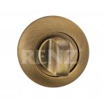 Завертка к ручкам RENZ, бронза BK 08 BIG MAB, ант. матовая