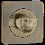 Завертка квадр. к ручкам RENZ, BK 02 BIG AB, бронза античная