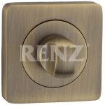 Завертка квадр. к ручкам RENZ, BK 02 BIG MAB, бронза ант.