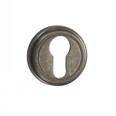 Накладка на цилиндр Vantage ET03AS состаренное серебро