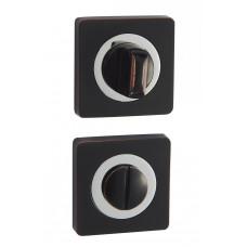 Завертка WC Vantage BK02BL/CP черный/хром