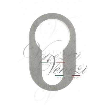 Накладка дверная круглая под цилиндр Venezia Unique CYL-30 (серия SLIM) полированный хром