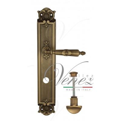 Ручка Venezia ANNETA WC на планке PL97 матовая бронза