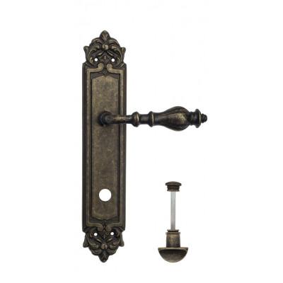 Ручка Venezia GIFESTION WC на планке PL96 античная бронза
