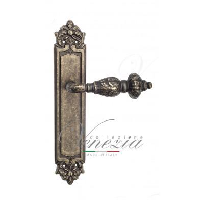 Ручка Venezia LUCRECIA на планке PL96 античная бронза