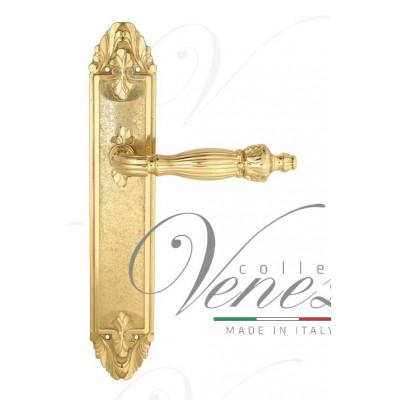 Ручка Venezia OLIMPO на планке PL90 полированная латунь