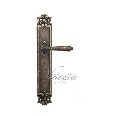 Ручка Venezia VIGNOLE на планке PL97 античная бронза