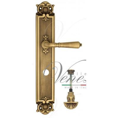 Ручка Venezia VIGNOLE WC-4 на планке PL97 матовая бронза