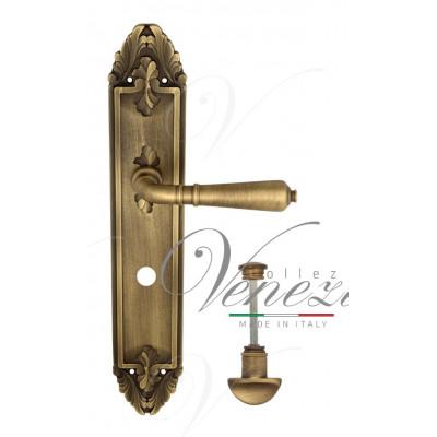 Ручка Venezia VIGNOLE WC на планке PL90 матовая бронза