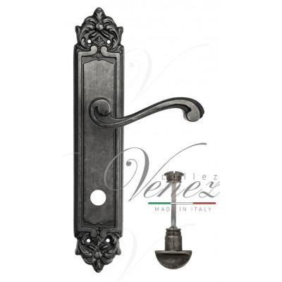 Ручка Venezia VIVALDI WC на планке PL96 античное серебро