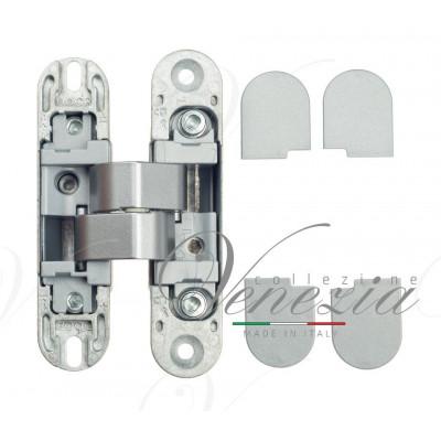 Дверная петля скрытая дверная Venezia P101-H матовый хром (40кг)