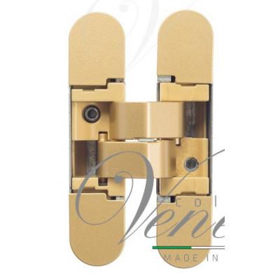 Дверная петля скрытая универсальная Venezia P101-G матовое золото (40кг)