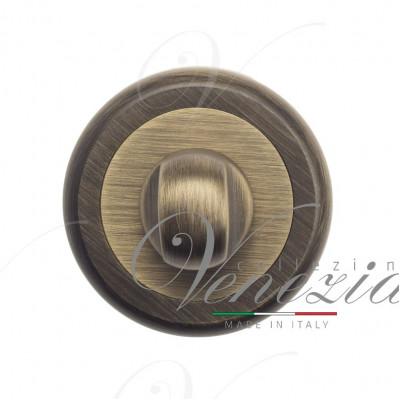 Фиксатор поворотный Venezia WC-1 D1 матовая бронза