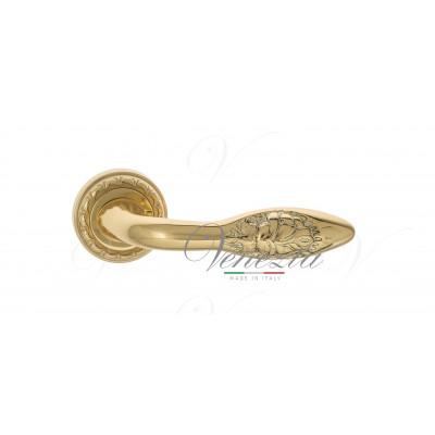 Ручка Venezia CASANOVA D2 полированная латунь