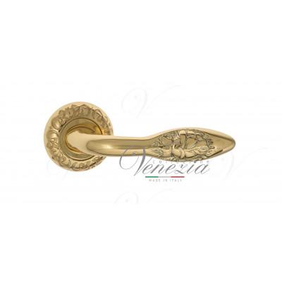 Ручка Venezia CASANOVA D4 полированная латунь