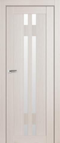 Дверь Profil Doors 40х Эш вайт, стекло матовое