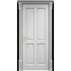 Дверь Арсенал 15ш глухая белый воск