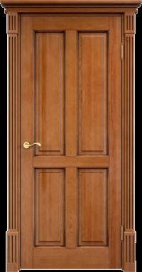 Дверь Арсенал 15ш глухая орех+патина