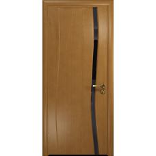 Дверь DioDoor Грация 1 анегри триплекс черный